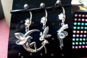 Piercings fées et pistolet diamant
